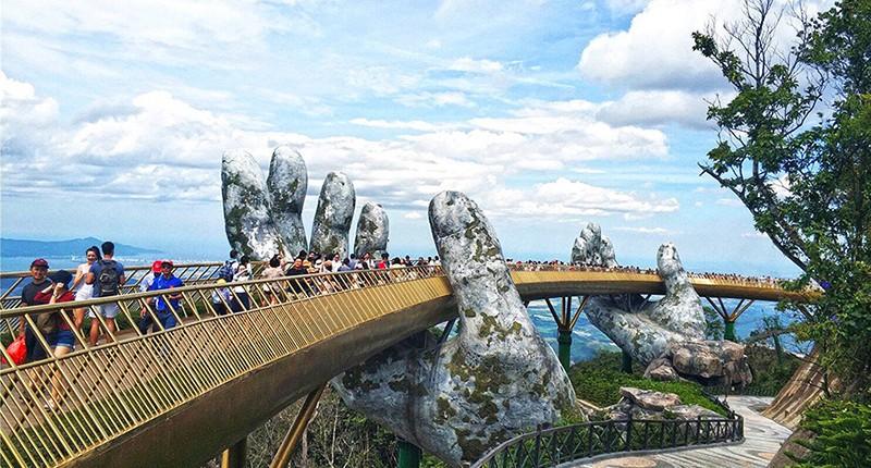 Cầu Vàng – Điểm đến ấn tượng nhất Đà Nẵng