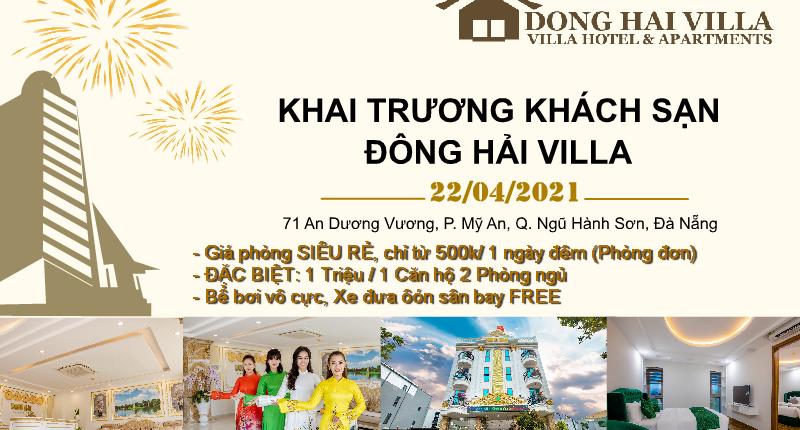 Khách sạn 4 sao Đông Hải Villa Đà Nẵng