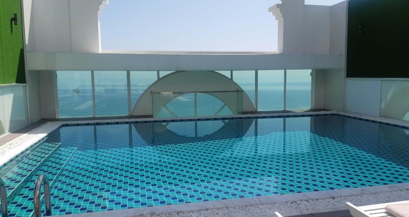 Bể bơi vô cực ở Đông Hải Villa